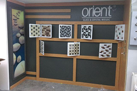 Orient Mosaic Product Display 20