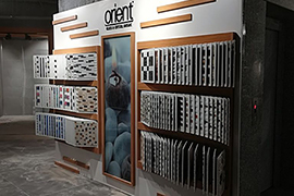Orient Mosaic Product Display 23