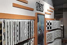 Orient Mosaic Product Display 24