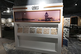 Orient Mosaic Product Display 25