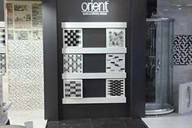 Orient Mosaic Product Display 5