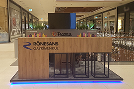 RGY Rönesans Real Estate Piazza Mall Info Booth 4