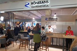 Ronesans Real Estate Investment Retail Days 2017 Fair Booth 6